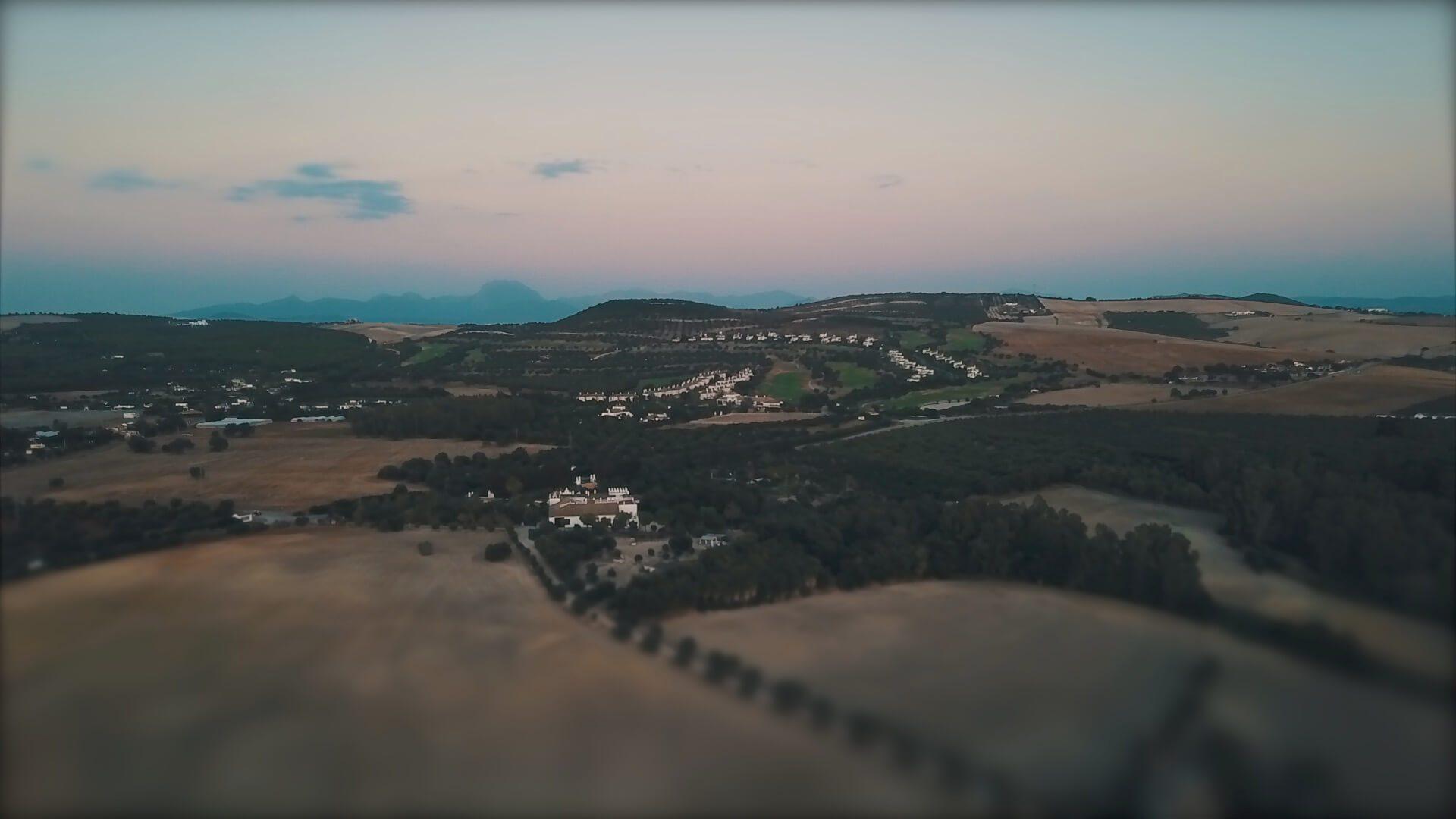 DroneFainViejoAndalusia